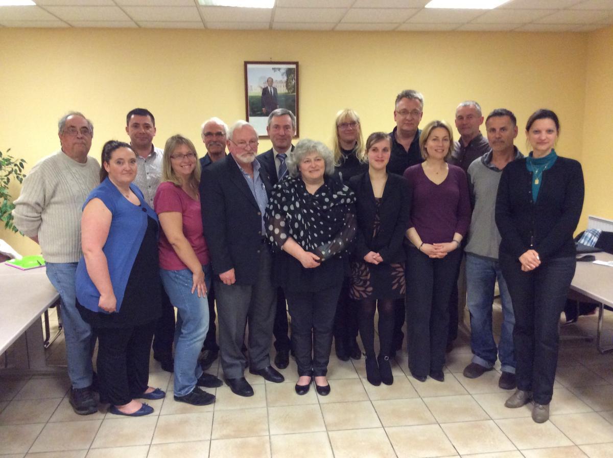 Le nouveau conseil municipal de Saint-Roch