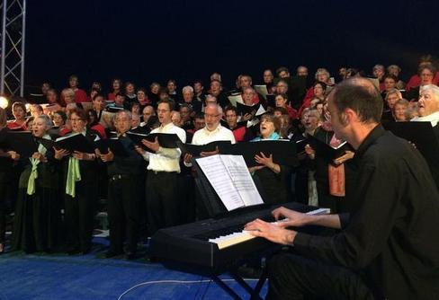 Roch en Chœur au 10ème anniversaire de Choral'Aria