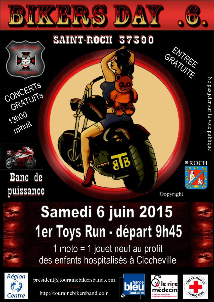 6 juin 2015 : 6ème EDITION DE LA BIKERS DAY !