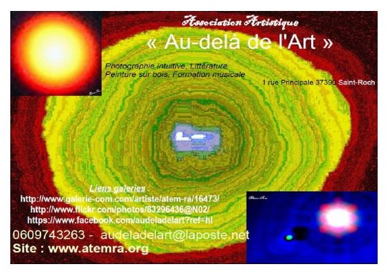 Du nouveau avec l'association Au-Delà de l'Art : Un espace et un temps pour la créativité artistique