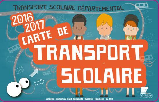 Inscription au transport scolaire vers le collège de Fondettes